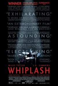 """""""Whiplash"""" was the most stress-inducing film I saw this year, but in a good way. It's an intense film that poses some intriguing questions. Is greatness innate or does it have to be pushed and extracted from someone? For those striving for greatness, how far is too far? This film has an amazing soundtrack, and a career-best performance from J.K. Simmons. At many points in this film, I found myself holding my breath and gripping my seat from the intensity."""