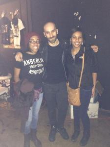 Meeting Sam Harris of X Ambassadors