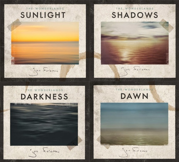 """Jon Foreman takes us through each hour of the day with this collection of four EPs. While listening to these songs, I've smiled, cried, been broken, and put back together over and over again. """"The Wonderlands"""" is a brilliantly executed concept with a joyful conclusion. If I can get my thoughts together, I'd like to write a full review of this project."""